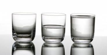 Is jouw glas half leeg?